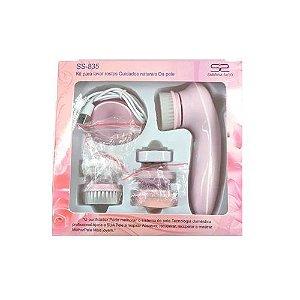 Escova Elétrica Facial Recarregável c/ Cabo UDB Sabrina Sato