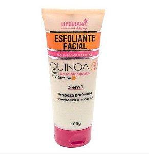 Esfoliante Facial Pós-Maquiagem Quinoa Ludurana