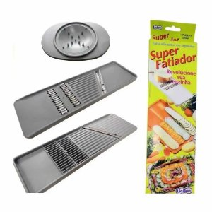 Super Fatiador Alimentos Legumes Frutas Queijos Super Afiado