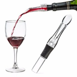 Aerador de Vinho Bico Dosador Acrílico Vinho garrafa