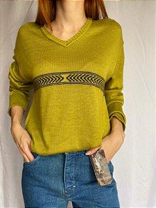Blusinha de Tricot Verdinha (M)