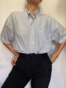 Camisa Listrada TOMMY HILFIGER (G)