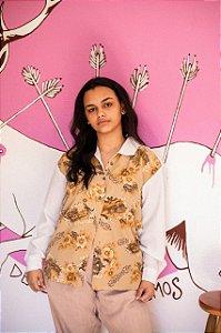 Camisa flores (P/M)