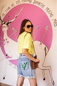 Bermuda Jeans Cacto