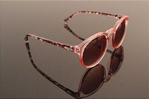 Óculos tartaruga pink