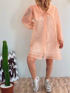 Camisa Transparente princesa