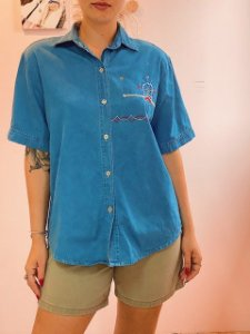 Camisa jeans red