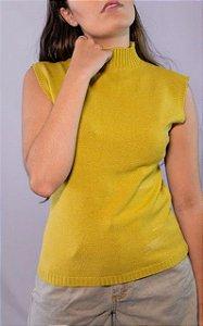 Golinha tricot verdinha