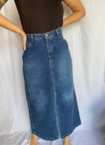 Saia Comprida Jeans (44)