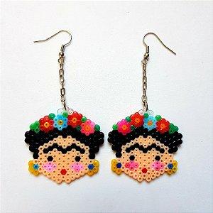Brinco Frida Kahlo PixelArt
