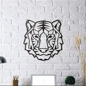 Quadro Tigre Geométrico