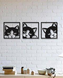 Painel Segmentado Gatos