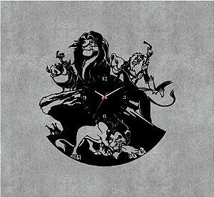 Relógio Rei Leão
