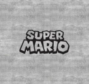 Quadro Logo Super Mario