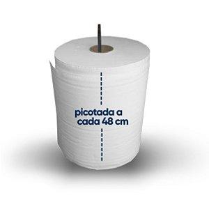 Toalha Bobina Multiuso Picotada - Fardo com 2 bobinas com 416 toalhas cada