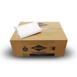 Toalha interfolha Dadu 22x20 - Caixa com 6.000 folhas