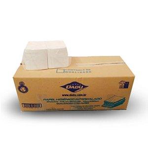 Papel higiênico interfolhado - Caixa com 10.000 folhas