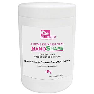 Creme de Massagem NanoShape Dermare 1Kg