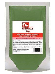 Argila Verde  Adstringente e Remineralizante 1000g Colágeno