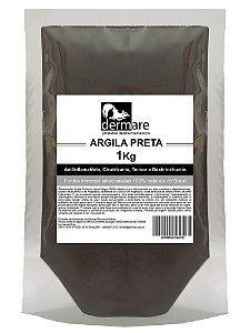 Argila Preta  Desintoxicante 1000g