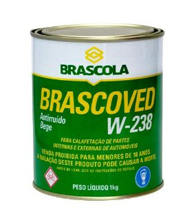 Brascola Brascoved W238 Bege Lata (1Kg)