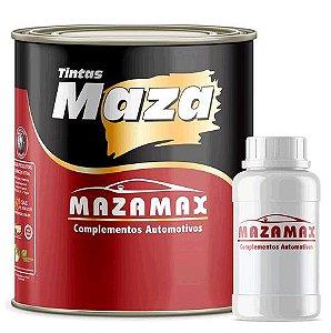 Maza Tinta Preto Fosco Vinílico + Catalisador (3,6ml)