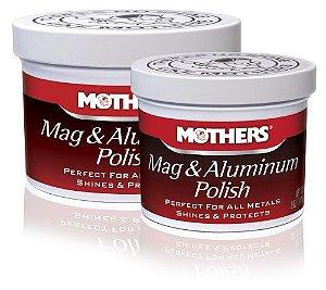 Mothers Polidor de Metais Mag & Aluminum Polish (141g)