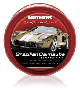Mothers Cera Limpadora de Carnauba California Gold Cleaner Wax (340g)