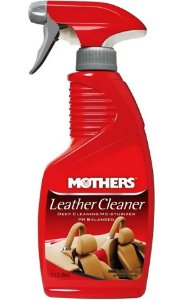 Mothers Limpa e Hidrata Banco de Couro Leather Cleaner (355ml)