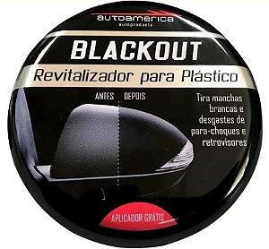 Autoamerica Revitalizador de Plastico Blackout (100g)