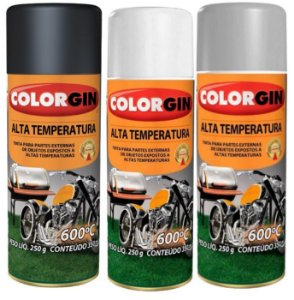 Colorgin Tinta Spray Alta Temperatura (350ml)