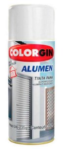 Colorgin Spray Alumen Branco 7004 (350ml)