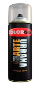 Colorgin Spray Arte Urbana Preto 945 (400ml)