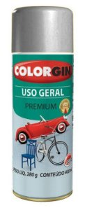 Colorgin Spray Uso Geral Cinza Placa 55041 (400ml)