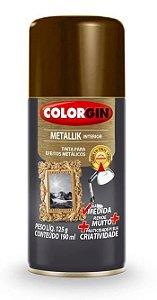 Colorgin Spray Metallik Bronze 555 (190ml)