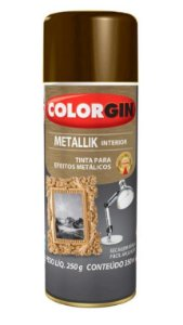 Colorgin Spray Metallik Bronze 55 (350ml)