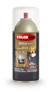 Colorgin Spray Metallik Verniz 558 (190ml)