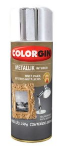 Colorgin Spray Metallik Cromado 51 (350ml)