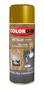Colorgin Spray Metallik Ouro 52 (350ml)