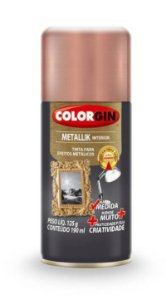 Colorgin Spray Metallik Rose Gold 556 (190ml)