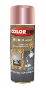 Colorgin Spray Metallik Rose Gold 56 (350ml)