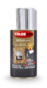 Colorgin Spray Metallik Cromado 551 (190ml)