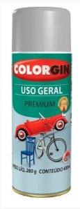 Colorgin Spray Uso Geral Prata Real 57061 (400ml)