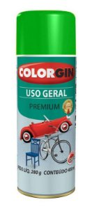 Colorgin Spray Uso Geral Verde 55091 (400ml)