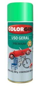 Colorgin Spray Uso Geral Verde Campos 57111 (400ml)