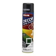 Colorgin Tinta Spray Decor Grafite Metálico (360ml)