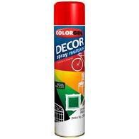 Colorgin Tinta Spray Decor cor Vermelha (360ml)