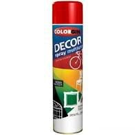 Colorgin Tinta Spray Decor Vermelho Metálico (360ml)