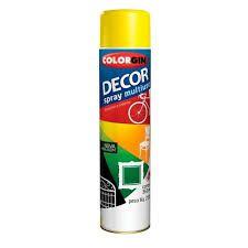 Colorgin Spray Decor Multiuso Amarelo (360ml)