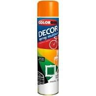 Colorgin Tinta Spray Decor Laranja (350ml)